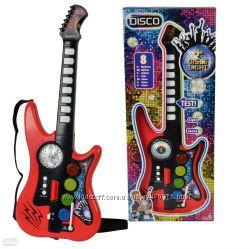 Гитара Диско 10 звуковых эффектов 66 см Simba 6834102