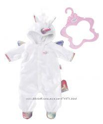 Комбинезон Пижама Единорог для куклы Zapf Baby Born 824955