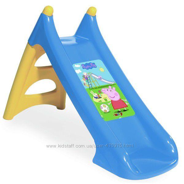 Детская Горка XS с водным эффектом Peppa Smoby 820609