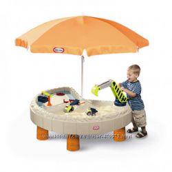 Детская песочница стол Веселая стройка Little Tikes 401N