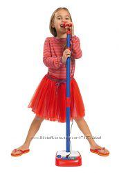 Музыкальный инструмент Simba Микрофон со стойкой 80-120 см 6830402