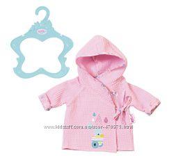 Халат для куклы пупса Беби Борн Baby Born  Zapf 824665