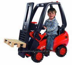 Детский Вилочный трактор погрузчик педальный Big Linde 0056580 Германия