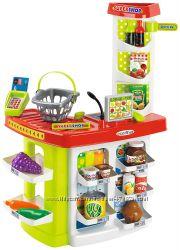 Продуктовый супермаркет Chef с кассой и продуктами Ecoiffier 001784