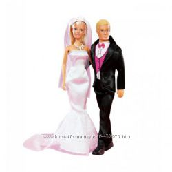 Кукла набор День свадьбы Штеффи и Кевина Simba 5732346