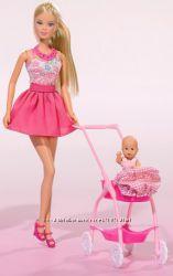 Кукла Simba Штеффи и коляска с малышом 5733067