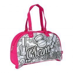 Сумочка раскраска Simba Color Me Mine Розовый гламур 6371193