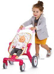 Коляска Smoby Baby Nurse для прогулок с поворотными колесами 251223