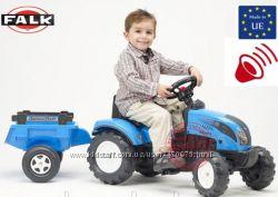 Трактор детский педальный с прицепом Falk Landini 2050С
