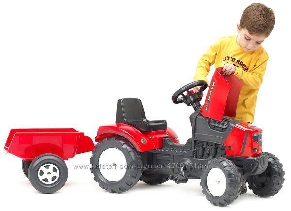 Трактор детский педальный 2 - 5 лет Lander Falk Фалк 2030AC