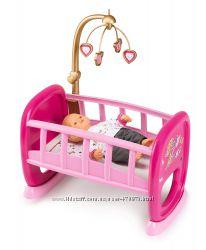 Колыбель кроватка для пупса Smoby Baby Nurse 220328