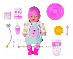 Эксклюзивная Кукла BABY BORN Сладкая малышка Нежные объятия 826690