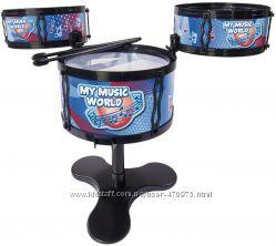 Музыкальный инструмент Simba Toys Барабанная установка 37 см 6838996