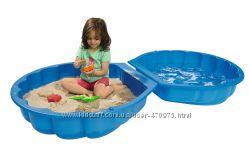 Детская Песочница-бассейн Ракушка Big Smoby 7711