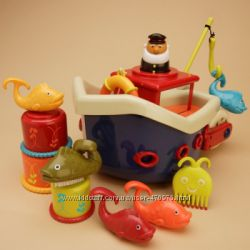Игровой набор Ловись, рыбка в ванной BX1012Z Battat