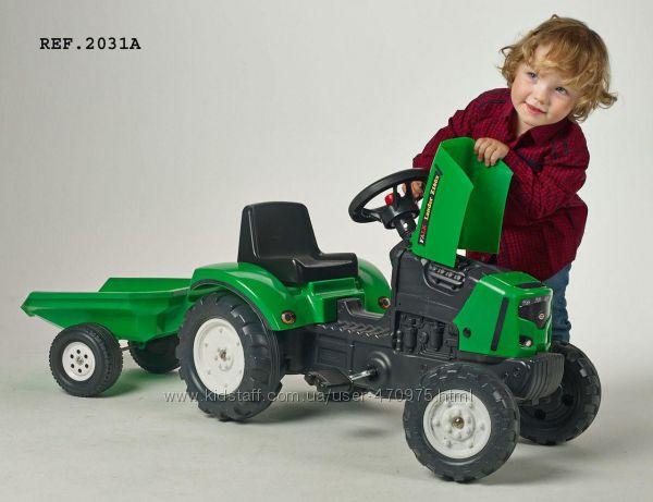 Трактор педальный с прицепом Falk 2031A