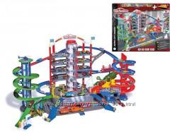 MAJORETTE Гараж Супер город 7 уровней, 6 металлических машинок 2059989