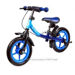 Детский беговел DAN PLUS Blue Lionelo 51822