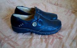 Туфли clarks structured 4d leather оригинал 38р 38. 5р 39р