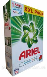 Стиральный порошок Ariel whites & colors-5.25 кг