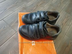 Bioceramic ботинки-туфли в школу натуральная кожа