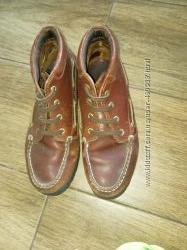 Кожаные крутые ботинки Timberland