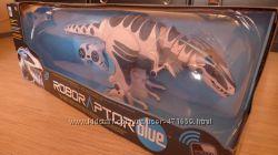 Робот-динозавр WowWee Roboraptor Blue Новый