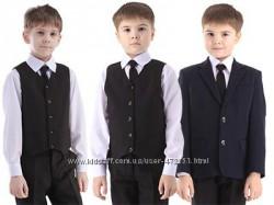Брюки и жилетка мальчику в школу или на праздник