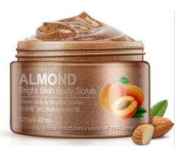 Cкраб для тела с маслом миндаля BioAqua Almond Bright Skin Body Scrub. 120
