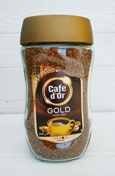 Кофе растворимый Cafe dOr Gold 200гр. Польша