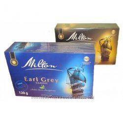 Чай черный Milton Earl Grey Classic 80 пакетиков Польша
