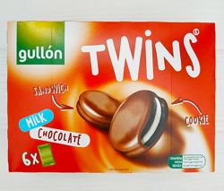 Печенье сэндвич Gullon Twins Milk Chocolate 252г Испания