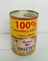 Паштет Pamapol Pasztet 390 гр Польша