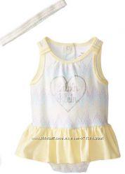 Костюм для девочки Calvin Klein бодик юбка с повязкой
