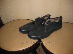 Туфли - ботинки нат. нубук размер 44