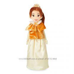 Мягкая игрушка кукла Белль в зимней накидке Disney 48 см
