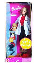 Коллекционная кукла Барби Ветеринар Barbie Pet Doctor 2000 Mattel 50595