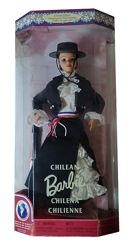 Коллекционная кукла Барби Чили Куклы Мира Barbie Chilean Dolls of the World