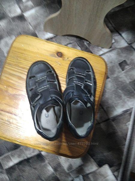 кожаные удобные босоножки, сандали