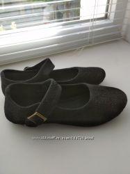 Туфельки тканевые, шитье, Miss Fiori, 20 см