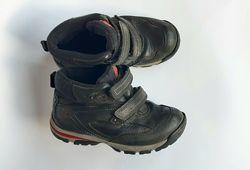 Отличные комфортные кожаные ботинки Timberland
