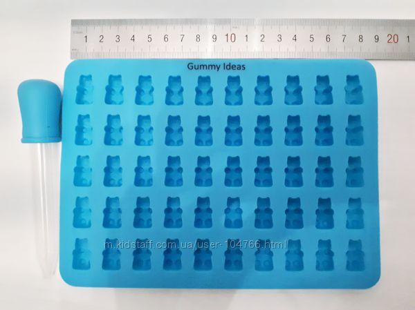 Силіконові формочки для мармеладних ведмедиків