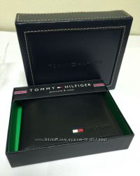 Портмоне кошелек TOMMY HILFIGER для мужчин кожа