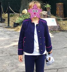 Мегастильный пиджак Gymboree, 4-5 лет, 110-116 см, состояние нового