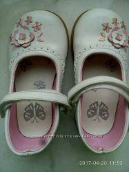 Туфельки белого цвета, размер 7
