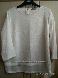 Блузка, Marks&Spenser, белого цветра, размeр12