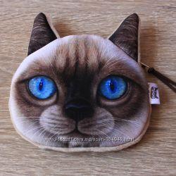 3D кошелёчки -котики для малышей