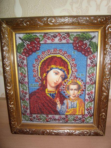 Продам иконы и картины из бисера