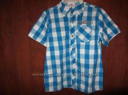 Новые красивые рубашки с коротким рукавом Topolino Германия в 110р