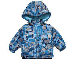 Теплая деми курточка размер 110